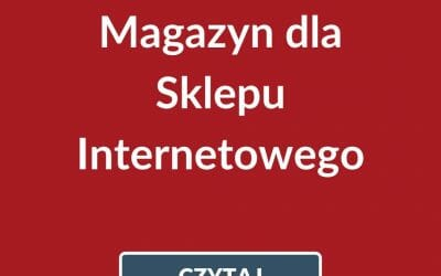 Magazyn dla sklepu internetowego